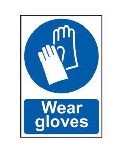 Wear Gloves Sign