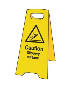 Slippery Surface A-Board Sign