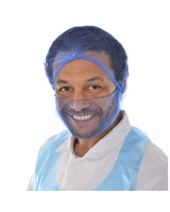 BST Detectable Beard Nets