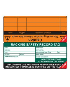 Racking Tag Insert