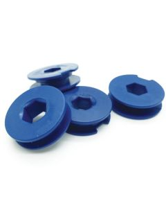 Single Hex Retaining Clips