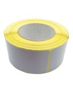 Detectable Plain White Labels