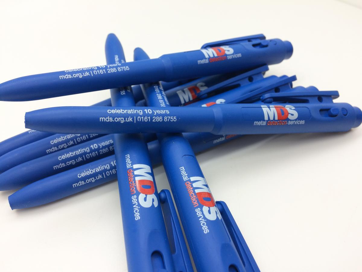 A case study on bespoke Detectapen® branding - for Metal Detection Services Ltd