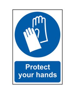 Protect Your Hands Sign