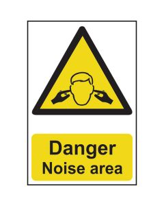 Danger Noise Area Sign
