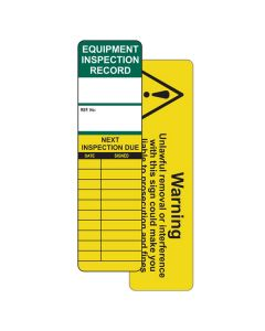 Universal Inspection Tag Insert